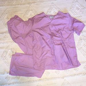 Other - Lilac scrub set